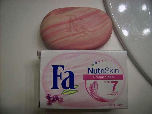 FA NutriSkin Cream Soap Acaibeere