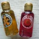 The Body Shop Ginger Sparkle & Cranberry Joy Shower Gels (LE)