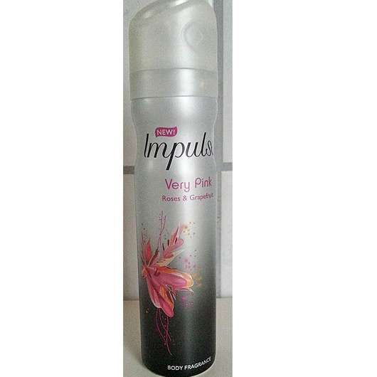 Impulse Very Pink Roses & Grapefruit Body Fragrance