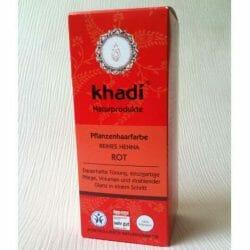 Produktbild zu Khadi Pflanzenhaarfarbe Reines Henna Rot