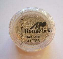 Produktbild zu MANHATTAN Rouge là là Nail Art Glitter – Farbe: 02 gimme gold! (LE)
