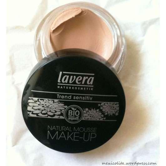<strong>lavera Trend sensitiv</strong> Natural Mousse Make up - Nuance: 03 Honey (LE)