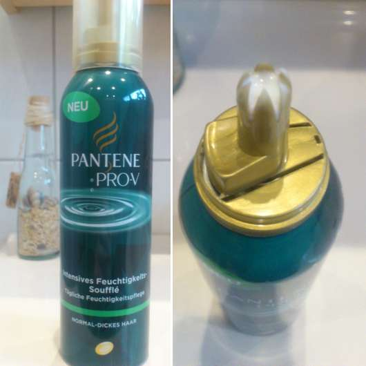 <strong>PANTENE PRO-V</strong> Intensives Feuchtigkeits-Soufflé