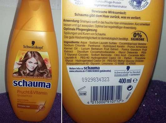 Schwarzkopf Schauma Frucht & Vitamin Shampoo
