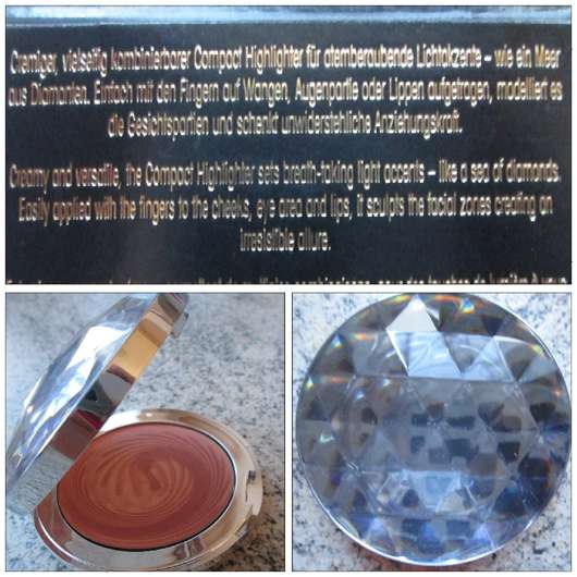 <strong>être belle</strong> Diamond Glow Compact Highlighter - Farbe: 02