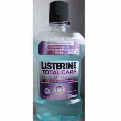 Produktbild zu Listerine Total Care Sensitive Tägliche Mundspülung