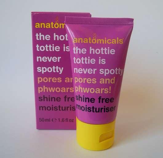 <strong>anatomicals</strong> shine free moisturiser