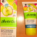 alverde Beauty & Fruity Mattierende Pflegecreme Limette Apfel