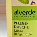 alverde Pflegedusche Minze Bergamotte