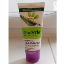 Produktbild zu alverde Naturkosmetik Repair-Haarmaske Traube Avocado