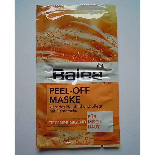 Balea Peel-Off Maske Tiefenreinigend