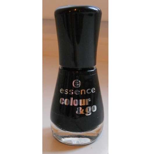 essence colour & go nail polish, Farbe: 144 black is back