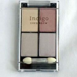 Produktbild zu Indigo Eyeshadow Quattro – Farbe: Helle Brauntöne