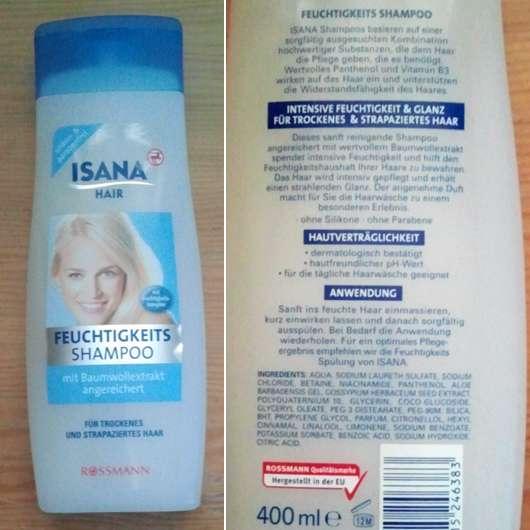 <strong>ISANA HAIR</strong> Feuchtigkeitsshampoo