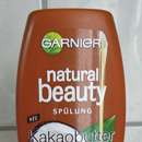 Garnier Natural Beauty Spülung Kakaobutter und Kokosöl