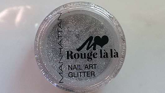 Manhattan Rouge là là Nail Art Glitter, Farbe: 01 Silver Stardust (LE)