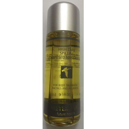 <strong>Weyergans</strong> High Care Composed Massage Oil