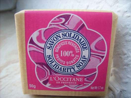 L'Occitane Karité Seife Für Solidarität Liebliche Rose (LE)