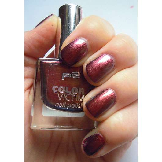 p2 color victim nail polish, Farbe: 996 before sunrise