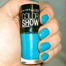 Maybelline Colorshow By Colorama Nagellack, Farbe: 120 Urban Turquoise