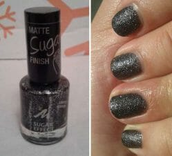 Produktbild zu MANHATTAN Visions of me Sugar Effect Nail Polish – Farbe: 02 Give me sparkle (LE)