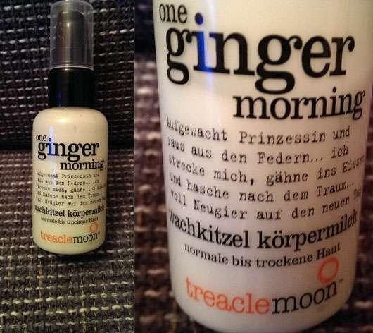 treaclemoon one ginger morning wachkitzel körpermilch