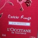 L'Occitane Cerisier Rouge Eau Intense