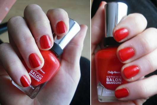 Sally Hansen Complete Salon Manicure, Farbe: 550 All Fired Up