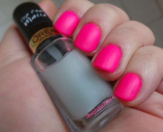 L'Oréal Paris Color Riche Top Coat, Farbe: 915 Matte