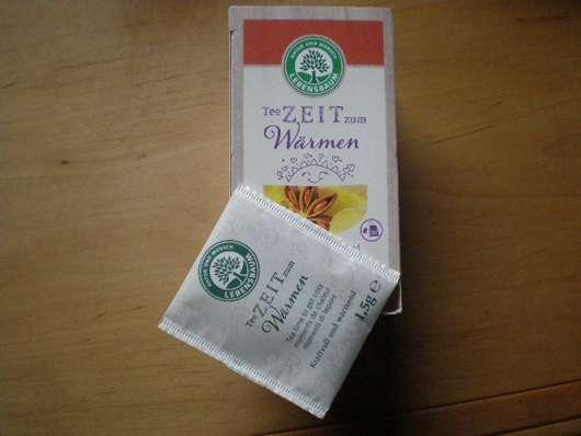 Lebensbaum Teezeit zum Wärmen