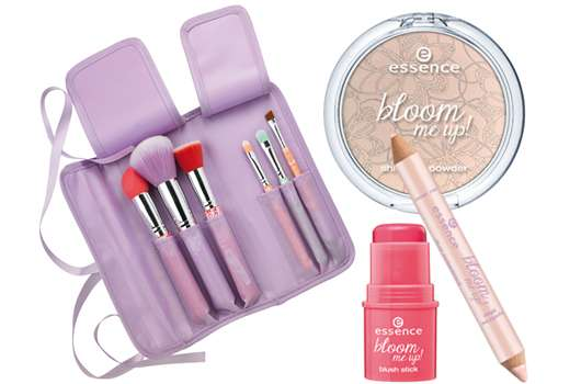 """essence trend edition """"bloom me up!"""""""