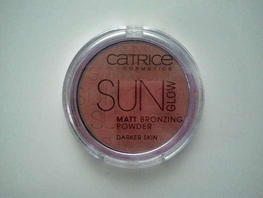 Catrice Sun Glow Matt Bronzing Powder, Farbe: 020 Deep Bronze