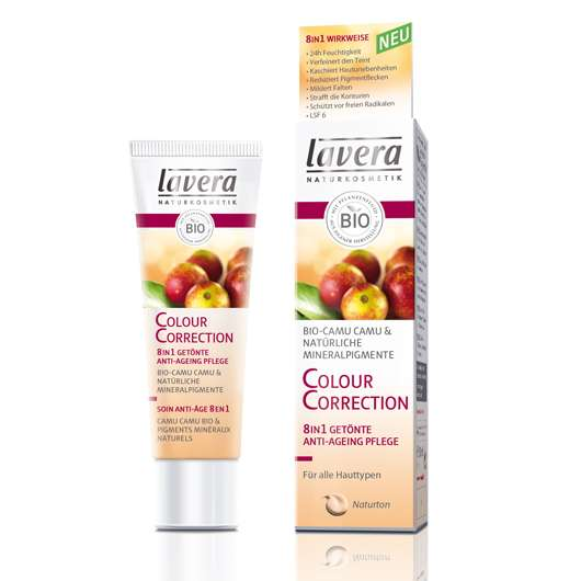 lavera Colour Correction 8in1 Getönte Anti-Ageing Pflege