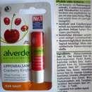 alverde Lippenbalsam Cranberry Kirsche