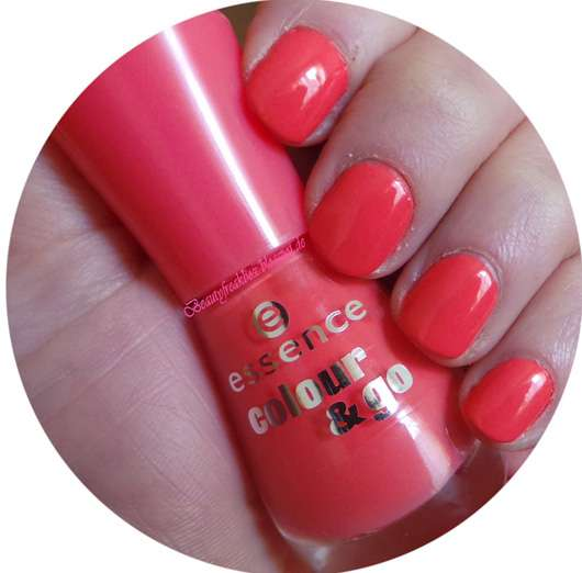 essence colour & go nail polish, Farbe: 109 off to miami