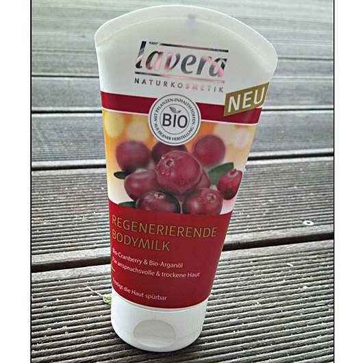 lavera Regenerierende Bodymilk (mit Bio-Cranberry & Bio-Arganöl)
