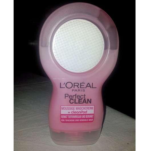 L'Oréal Paris Perfect Clean Moussige Waschcreme + cleanPod (trockene und sensible Haut)