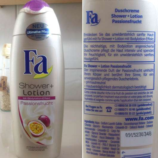 Fa Shower + Lotion Passionsfrucht Duschcreme