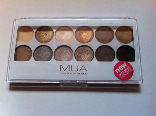 MUA Makeup Academy Eyeshadow Palette, Farbe: Undress Me Too