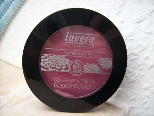 lavera Trend sensitiv So Fresh Mineral Rouge Powder, Farbe: Velvet Plum 04