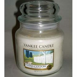 Produktbild zu Yankee Candle Clean Cotton Housewarmer