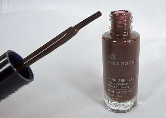 Yves Rocher Couleurs Nature Nagellack Brillance, Farbe: Chocolat