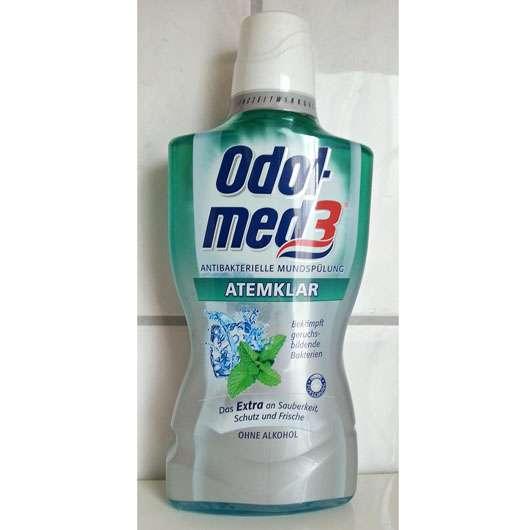 <strong>Odol-med 3</strong> Atemklar Antibakterielle Mundspülung