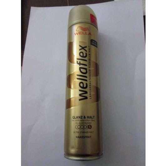<strong>wellaflex</strong> Glanz & Halt Haarspray