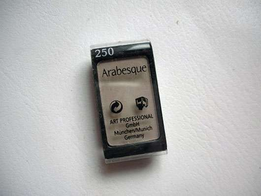 Arabesque Kompakter Lidschattenpuder, Farbe 250 Steingrau Matt