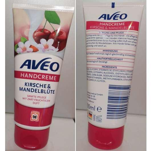 <strong>AVEO</strong> Handcreme Kirsche & Mandelblüte