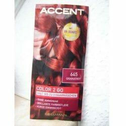 Produktbild zu Accent Color 2 Go – Farbe: 645 Granatrot