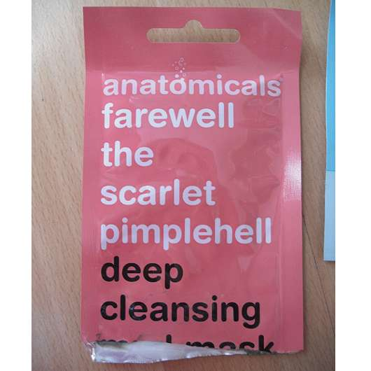 <strong>anatomicals</strong> farewell the scarlet pimplehell deep cleansing mud mask