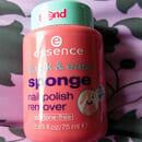 essence quick & easy sponge nail polish remover