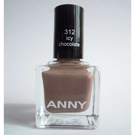 ANNY Nagellack, Farbe: 312 icy chocolate